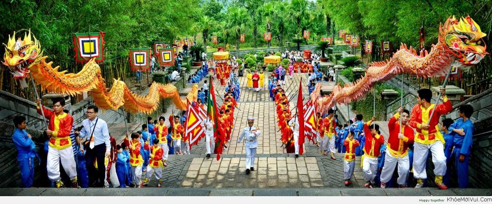 Nghỉ lễ giỗ tổ Hùng Vương, lễ 30/04 & 01/05/2018